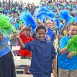 students-celebrate-at-ragsdale-high-school