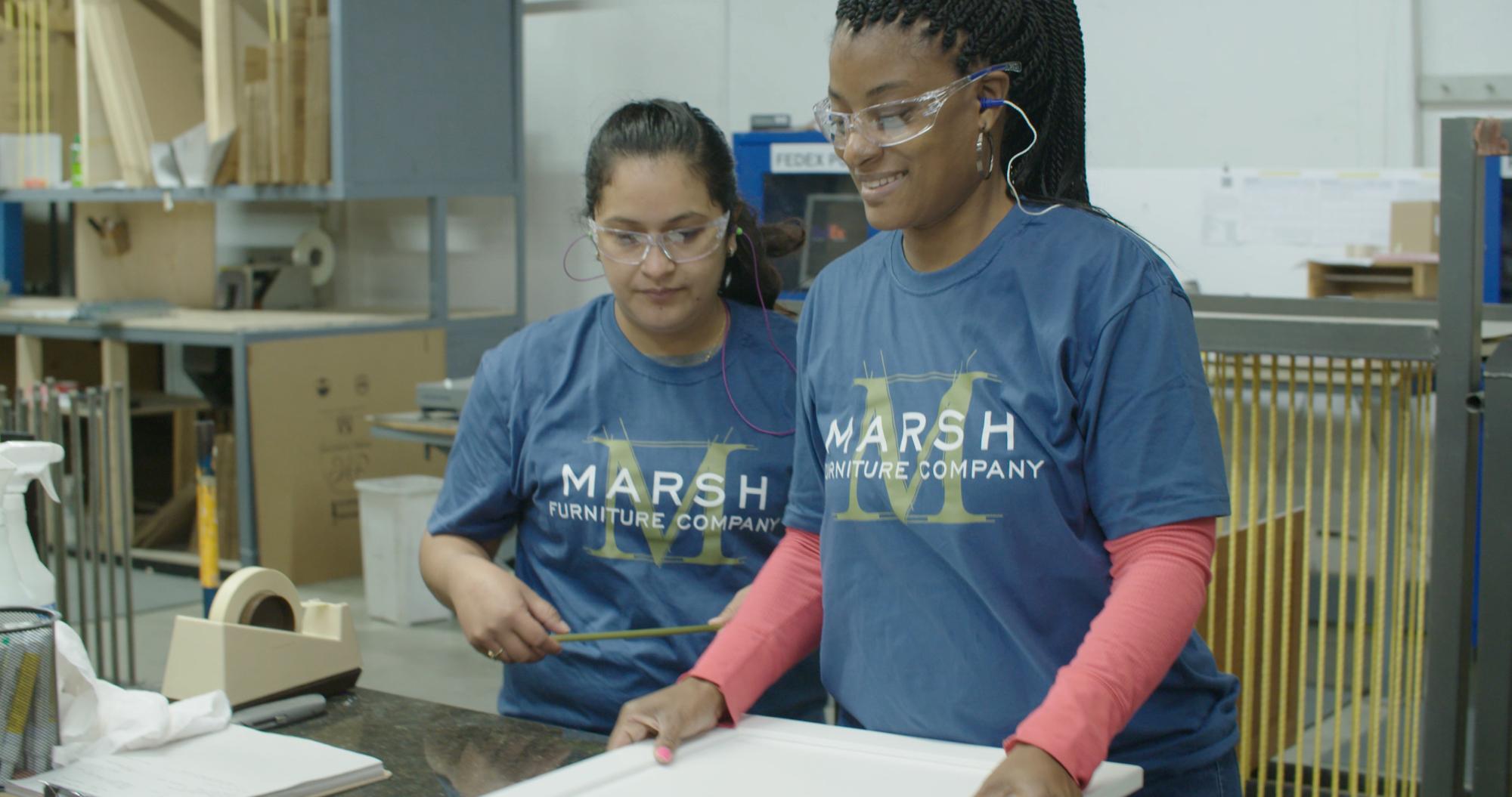 Marsh Furniture employees