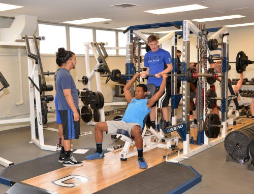 High Point Central High School receives state of the art weight room equipment