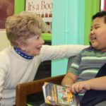 Books glorious books at Kirkman Park Elementary