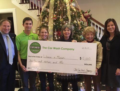 The Car Wash Company makes gift to Women in Motion Fund