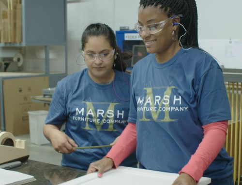 Marsh Furniture contributes and partners with Women in Motion