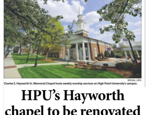 Longtime Foundation supporter featured for underwriting HPU chapel renovation