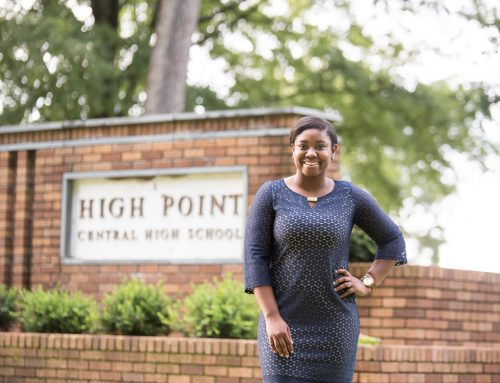 High Point Central High School Class of 1960 Scholarship helps a calling come to pass