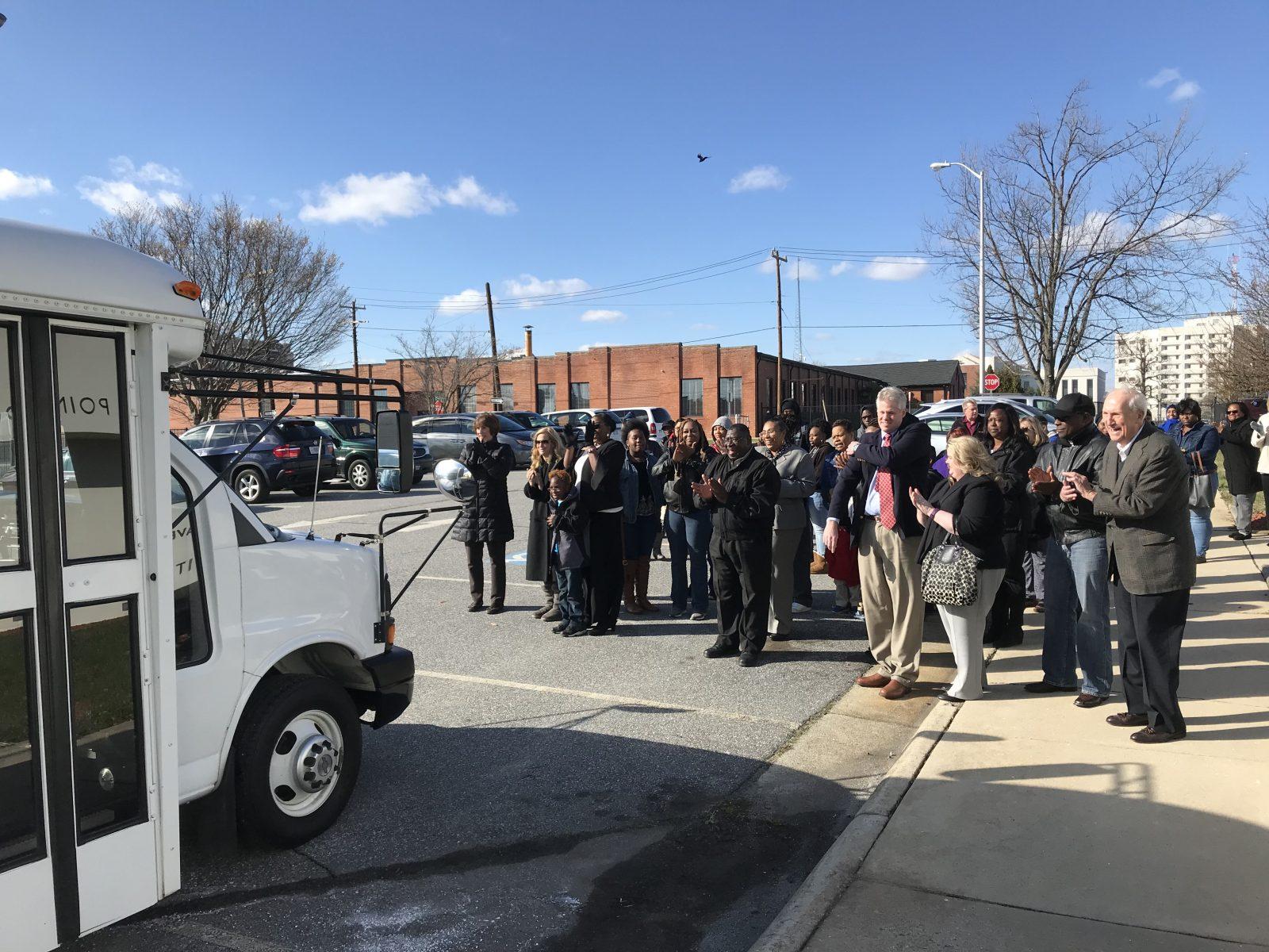 High Point Community Foundation facilitates bus donation to Housing Authority