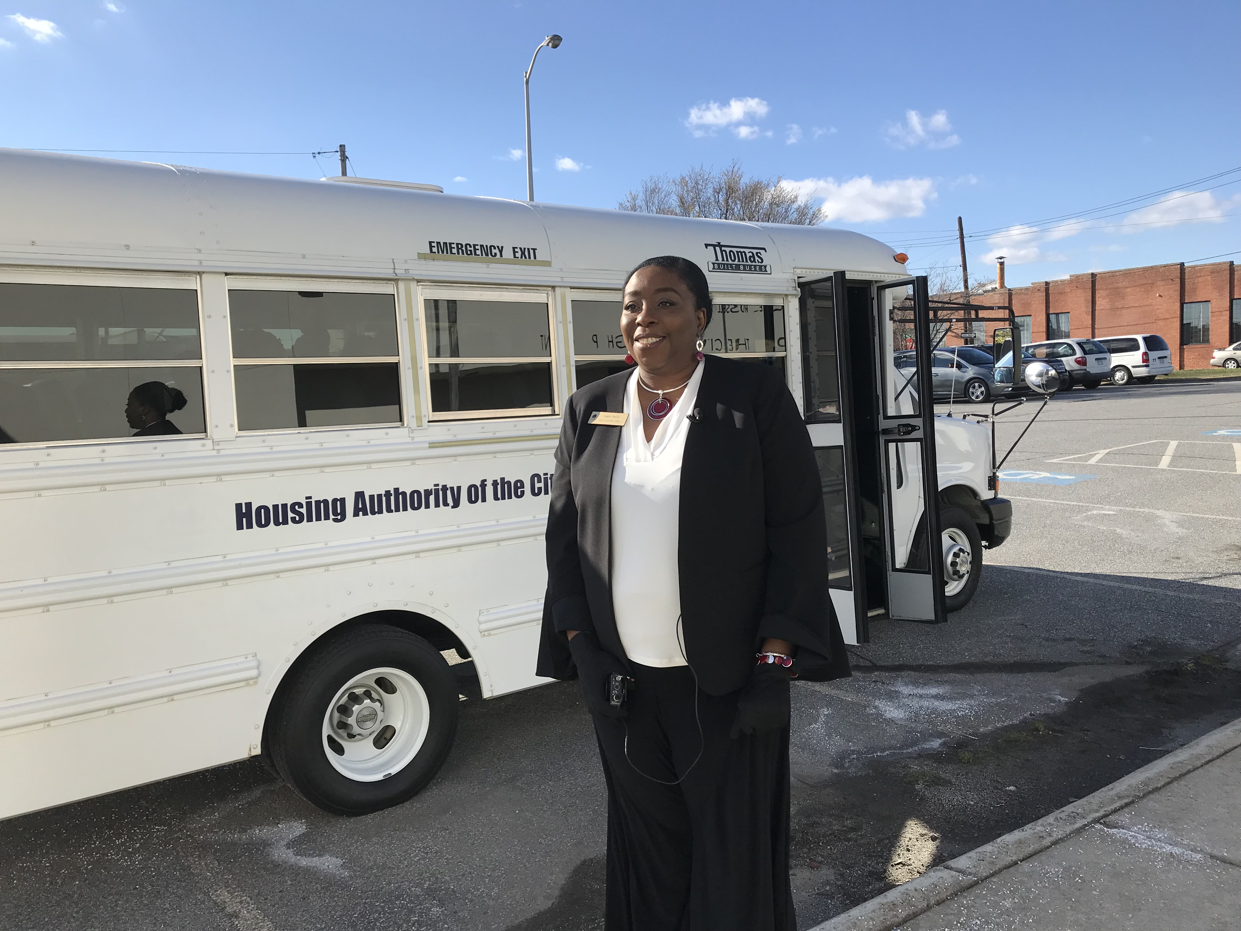 bus donation through high point community foundation