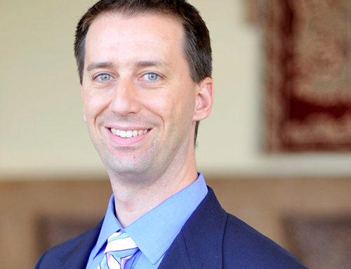 Rev. Dr. Joe Blosser receives the first Spirit of High Point University Award