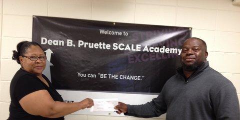 Miranda Short and Principal Joseph Stone - SCALE Academy