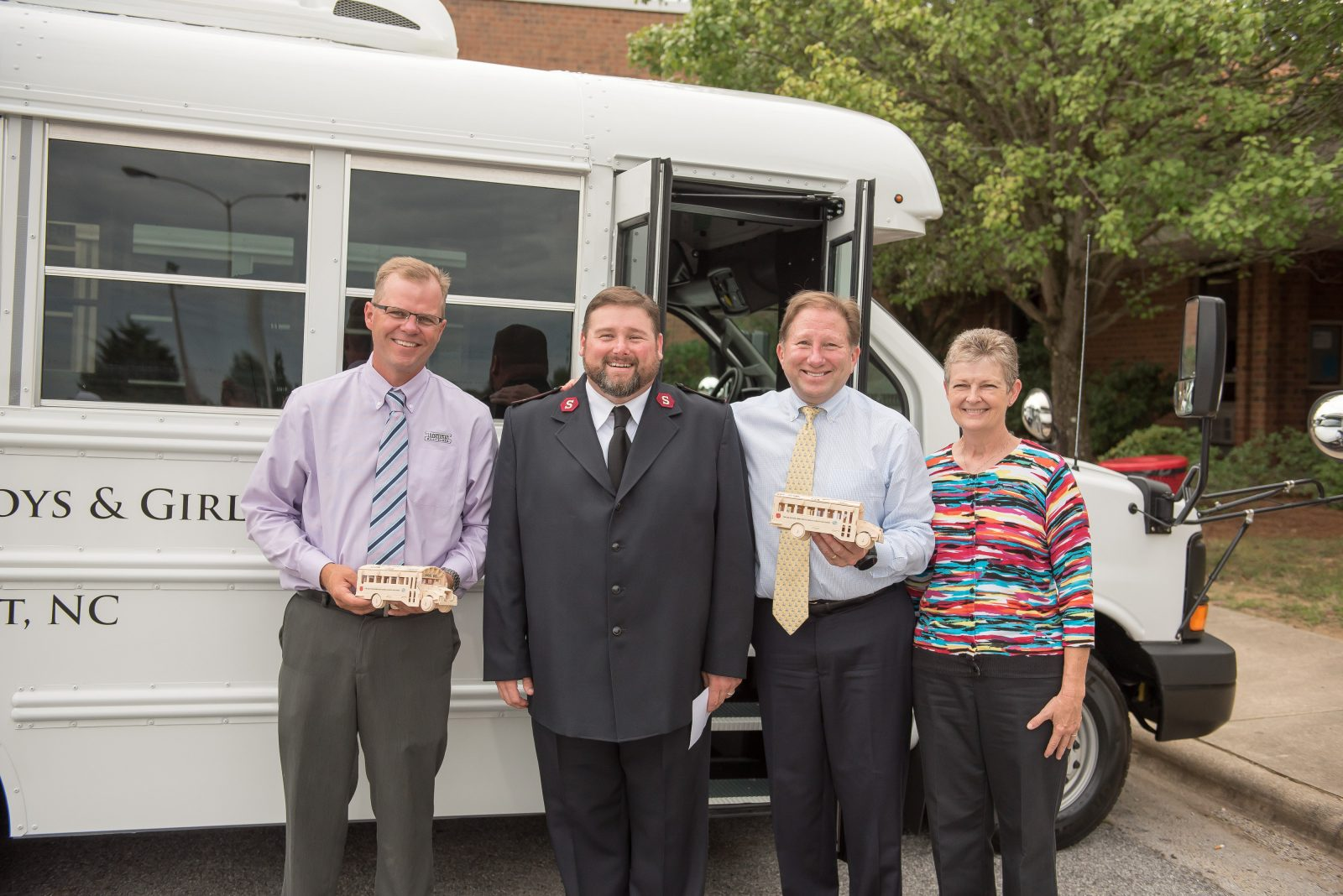 Boys & Girls Club with Salvation Army receive new buses