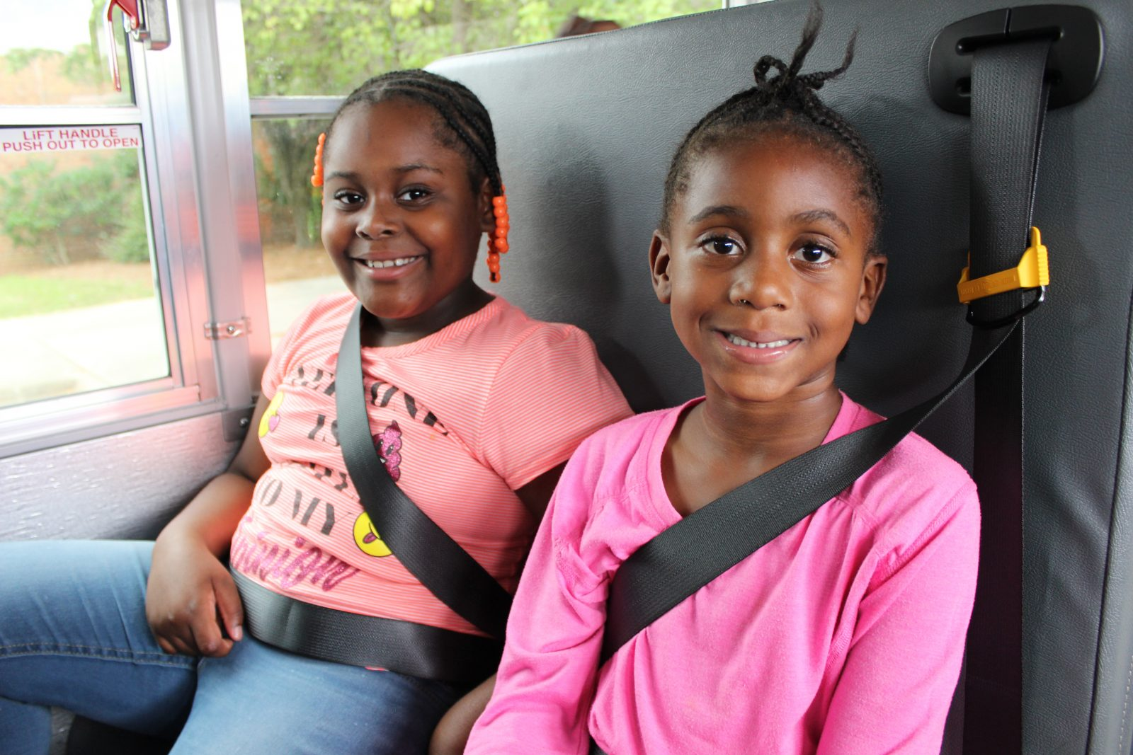 first ride on Boys & Girls Club bus