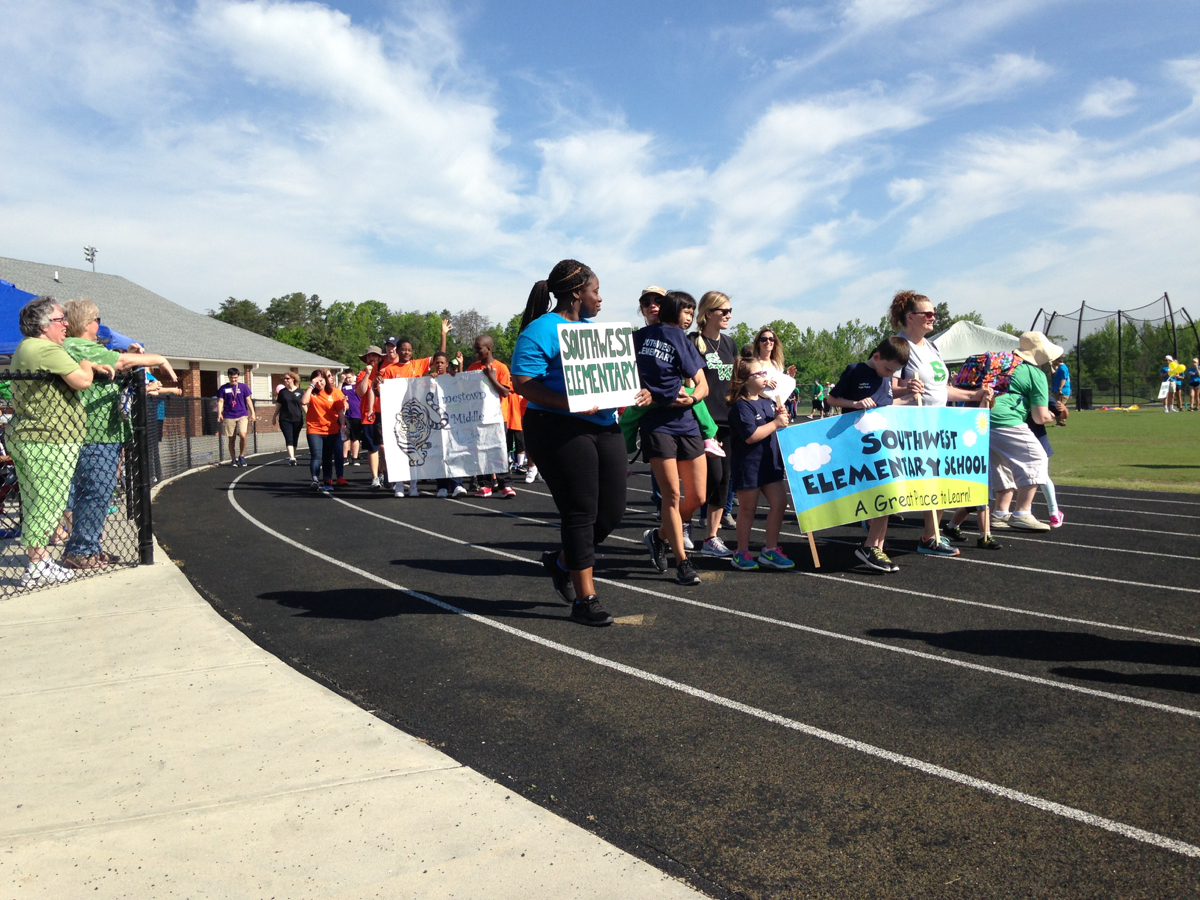 special olympics high point
