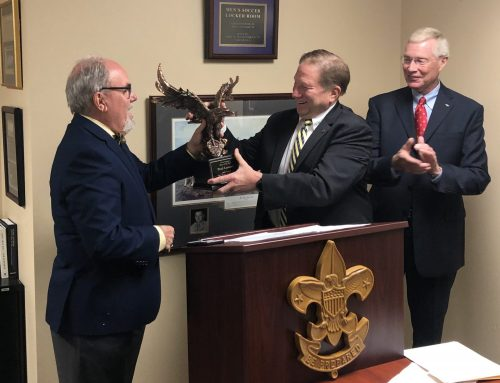 Paul Lessard, HPCF President named  Man of the Year by Boy Scouts of America